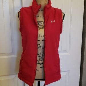 Under Armour Women's Fleece and Sherpa Vest Small